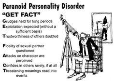 paranoid personality disorder essay