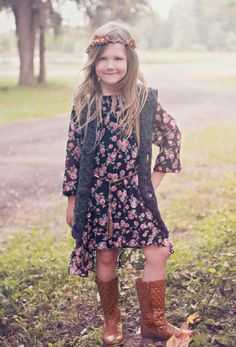 Girls Vintage Rose High Low Dress 4 to 16 Years Now in Stock