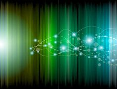 Abstract Glowing Background Vector illustration