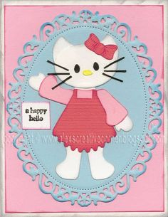 Hello Kitty punch art photo only