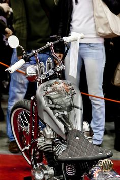 Moto Park 2012 in Moscow, Chopper Custom Paintbrush | #motorcycle