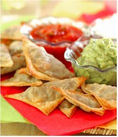 "Baked Beef Empanadas Recipe - Diabetic Gourmet Magazine - Diabetic Recipes Deec Everyone dug em, even the kids ate em.  However, dan changed their name to ""meat missiles"" bake beef, low sugar, gestational diabetes recipes, diabetic recipes, diabet gourmet, healthy foods, beef empanada, empanada recip, salsa recipes"