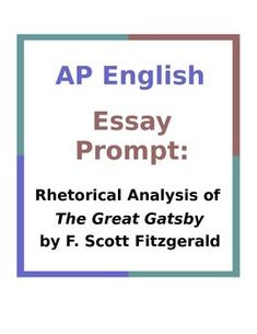ap english essay prompt