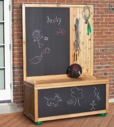 toy box ideas, chalk toy box, toy boxes, craft a toy box