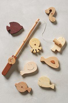 Wooden Fishing Kit /anthropologie.com