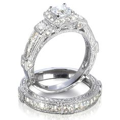 vintage engagement ring settings - Bing Images