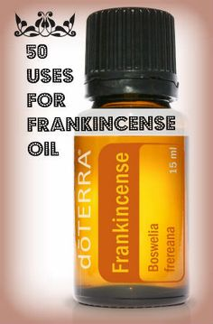 50 Uses for Frankincense Oil - you can get Frankincense Oil here: http://www.mydoterra/marcyk