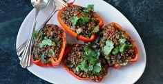 Vegan Quinoa Stuffed Peppers