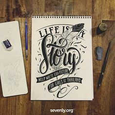 LIFE IS A STORY and this week, you can be the reason a sex-trafficked child in Thailand gets to re-write theirs. Help fund an undercover brothel raid! >> http://www.sevenly.org/?cid=SEVPinterestSevenly