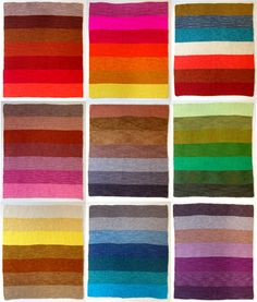 color schemes, color combos, craft patterns, color combinations, knit blankets, knitted blankets, babi blanket, stripe, knitted baby blankets