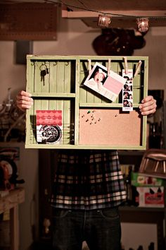 Organizer with Cork Board