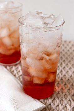 Cocktail Recipe: Pomegranate Gin Fizz @thekitchn