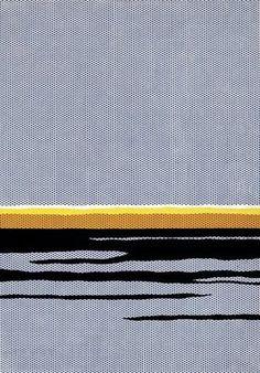 Lichtenstein, Seascape 1964