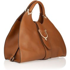 Gucci Stirrup Leather Tote .. If I was going to do Gucci... handbag, gucci stirrup bag, hand bag