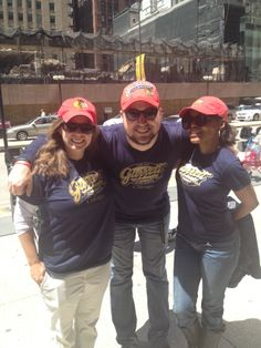Our Garrett Popcorn Shops Team shows their Chicago Blackhawks pride before Game 6! Hopefully the #Blackhawks keep it a #HappyFriday tonight!
