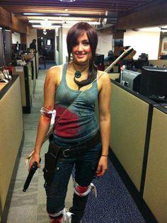 Naomi Kyle ass | IGN Entertainment Halloween 2012