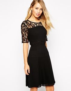 Whistles lace dress