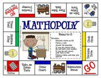 First Grade a la Carte: GAMEOPOLY's