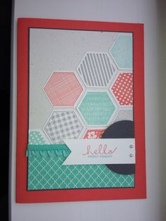 Stampin Up Six-Sided Sampler Card