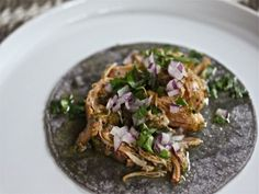 Slow Cooker Chicken Tomatillo Tacos | Serious Eats