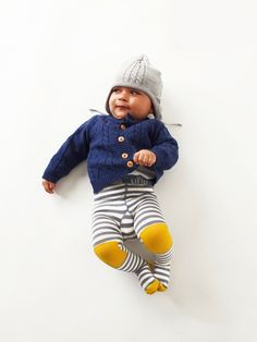 Little Titan- Funky Baby Leggings (maybe try to DIY --  love the solid color patches)