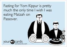 Fasting on Yom Kippur...