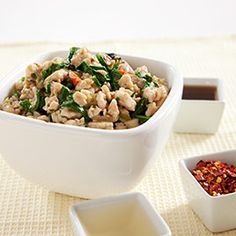 Thai-Style Chicken with Basil Recipe - America's Test Kitchen from America´s Test Kitchen