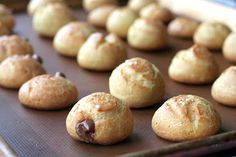 Nutella Creampuffs