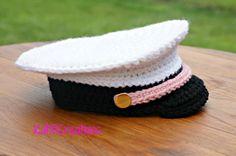 Crochet Military Inspired Hat - Turorial ❥ 4U // hf