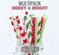 Vintage Paper Straws!