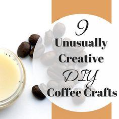 9 unusually creative DIY coffee crafts