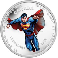 Royal Canadian Mint's Superman Coins Celebrate Comic Hero's 75th Anniversary [PHOTOS]: -- The Royal Canadian Mint unveiled seven coins Monday, each depicting different moments in the superhero's history. The event — which took place in the downtown Toronto area — marked the character's 75th anniversary.