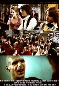 haha mean girls quote on harry potter