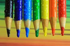 Colorful Pencils Spectrum by Tracy Hall