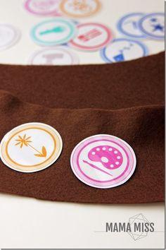 Summer Bucket List - Badges | @mamamissblog #bucketlist #meritbadges #summer