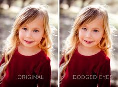 How to Get Eyes that Pop in a Photo //Photoshop Tips and Tricks