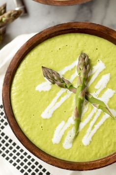Creamy Asparagus and