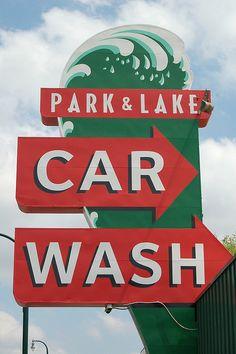 Park & Lake Car Wash...Minneapolis, Minnesota