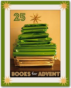 25 Christmas Books For Advent - Here Come the Girls