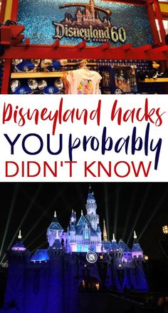 Your  Disneyland trip can be much more affordable with these Disneyland Hacks You  Probably Didn't Know. In fact, you could save hundreds of dollars on your next  Disneyland vacation. These tips can make your Disneyland trip budget-friendly  and have you sparkling with pixie dust in no time! #lifehacks  #lifehck #goodlifehacks #tips #lifehackideas #usefullifehacks #lifehacksyoudontknow  #travel #traveltips #packingtips #travelhacks #disney #disneyworld #disneyworldtips  #disneyworldtipsandtricks