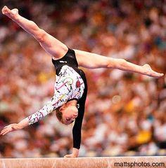 Tatiana Lysenko from Gymnastics: The Balance Beam board: Gymnastics: The Balance Beam m.0.1