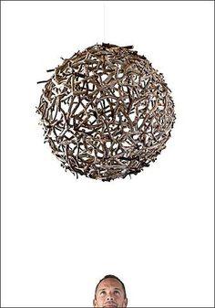 Wood Sphere by Stefan Daiberl