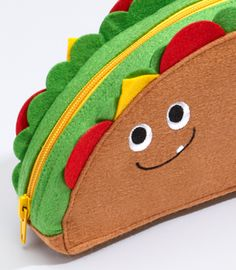 Taco Belle Cosmetics Pouch