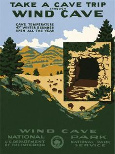 Wind Cave National Park, SD 2002