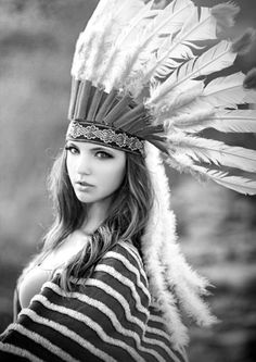 Love Indian Feather headdresses