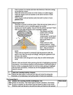 42 page 4th grade rocks and minerals unit freebie