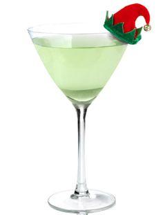 Naugh-TY Elf  (2 Parts TY KU Liqueur 1 Part Ginger Liqueur 1 Part White Cranberry juice Squeeze of Fresh Lime Juice)