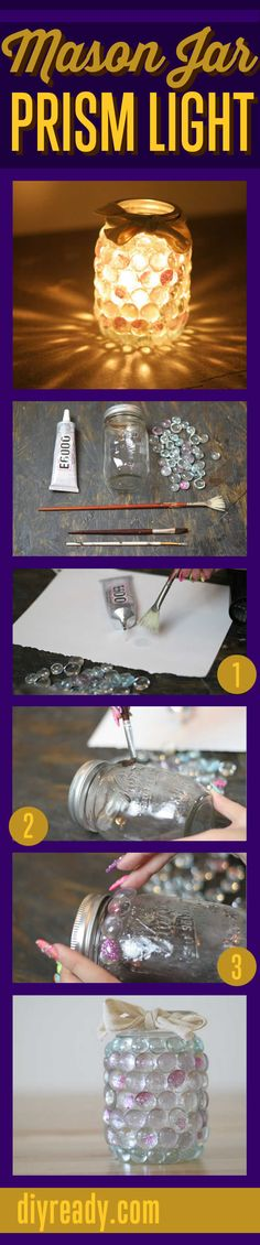 Mason Jar Crafts - T