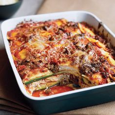 Ravioli and Zucchini Lasagna - Good Housekeeping