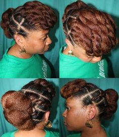 Another cute hairstyle that can be accomplished in a few short minutes.